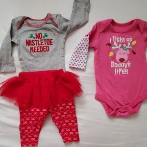 Baby Girl's Christmas Outfits